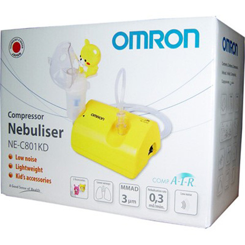 Omron Ne-C801S Comp Air Nebuliser For Children