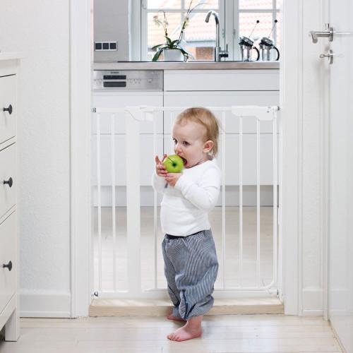 BabyDan Danamic Pressure Indicator Gate White 73-80.5cm Max 100