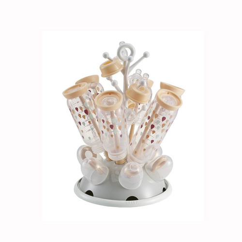 Beaba Feeding Bottle Draining Rack Nude