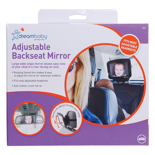 Dreambaby® Adjustable Back Seat Mirror
