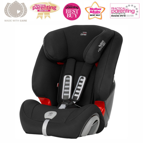 Britax Romer Evolva 1-2-3 Plus Black (9 Mnts - 12 Yrs)