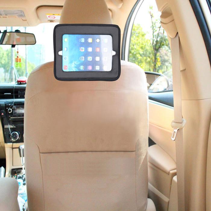 Babydan Head Rest Mounted Tablet Holder in car