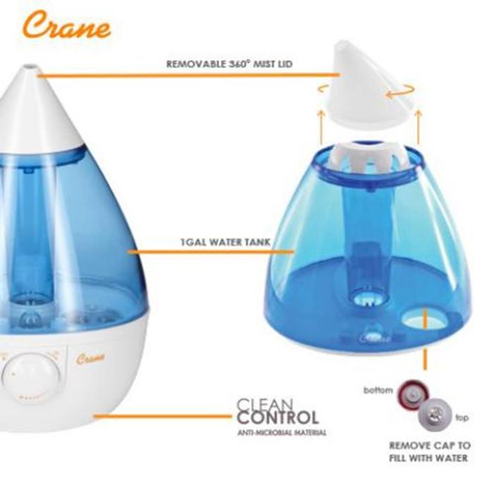 Crane Travel Cool Mist Humidifier Reviews