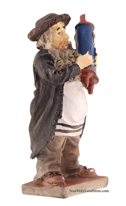 Figurine With Torah Scroll Yourholylandstore
