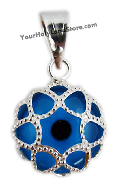925 sterling silver protection pendant against evil eye aloadofball Image collections