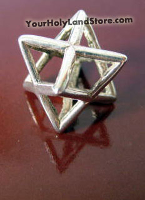 Sterling silver kabbalah merkabah charm sterling silver kabbalah merkaba charm aloadofball Image collections