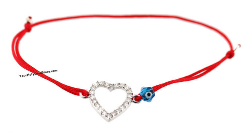 papa necklace crystal prev homenecklacesred east charm red string product