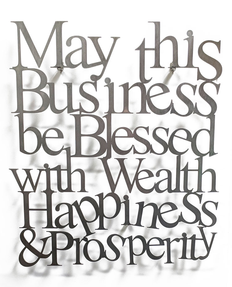 Business Blessing Wall Hanging - YourHolyLandStore