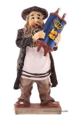 Figurine With Torah Scroll Yourholylandstore