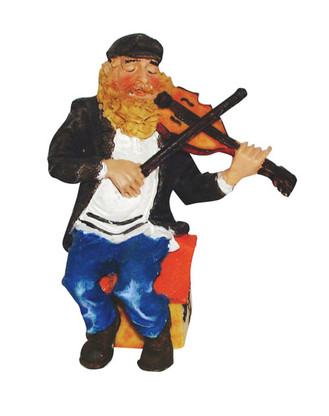 Fiddler On The Roof Colorful Figurine