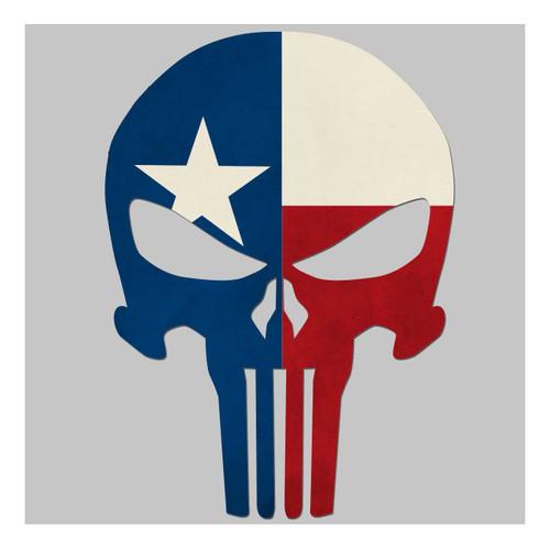 Texas Flag Skull