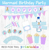 Mermaid Printable Party