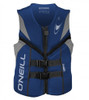 ONEILL MENS REACTOR CCGA NEOPRENE VEST BLUE