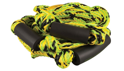 STRAIGHT LINE KNOTTED  WAKESURF ROPE