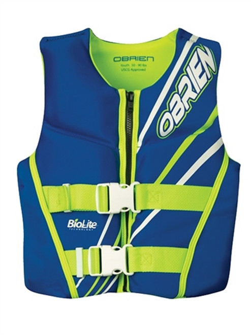 OBRIEN NEOPRENE YOUTH VEST 60-90LB CCGA