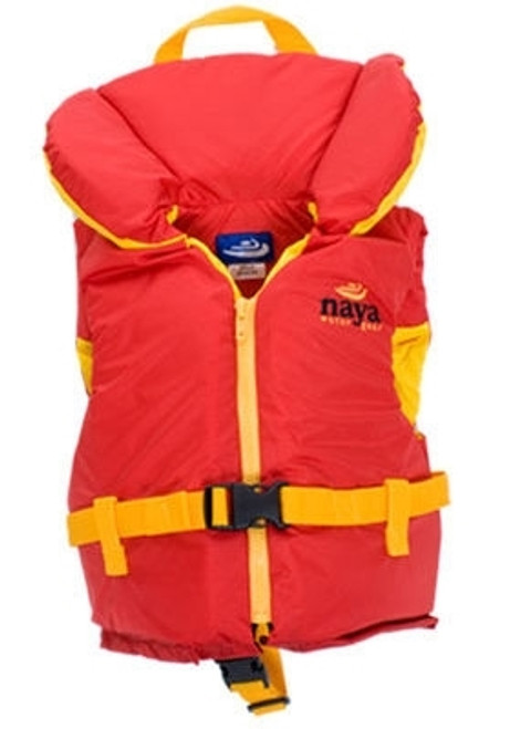 NAYA NYLON YOUTH VEST RED 60-90LB