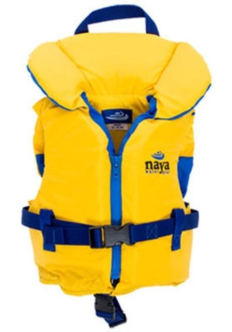 NAYA NYLON CHILD LIFE VEST GOLD 30-60LB