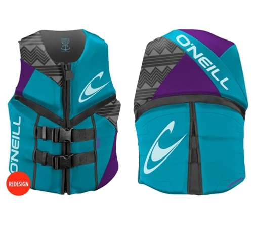 ONEILL WOMANS REACTOR NEOPRENE VEST CCGA