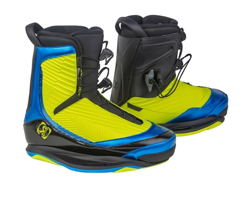 RONIX ONE WAKE BINDING YELLOW/AZURE (16)