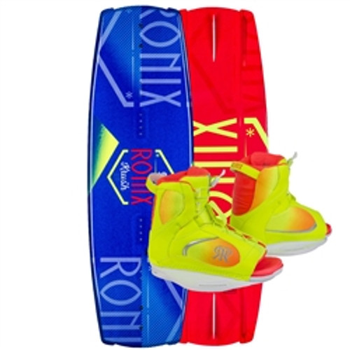 2016 KRUSH WAKEBOARD WITH LUXE BINDINGS PACKAGE