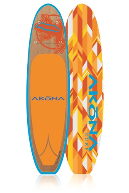 "AKONA DIAMOND 10'4"" SUP PACKAGE W/CARBON PADDLE, BAG, LEASH (16)"