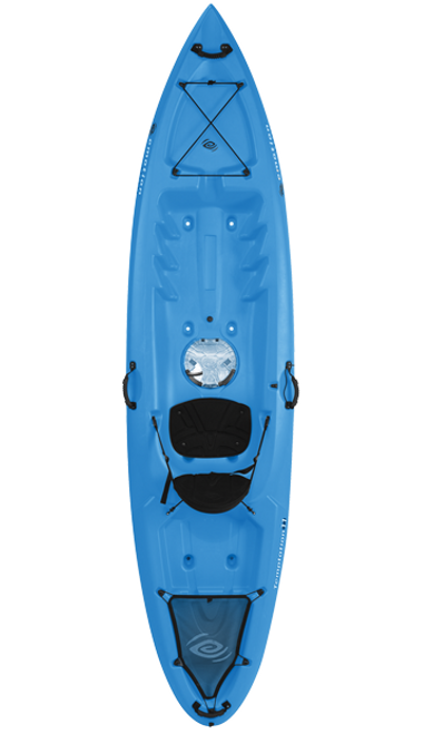 EMOTION TEMPTATION 11' KAYAK (BLOW MOULDED CONSTRUCTION)