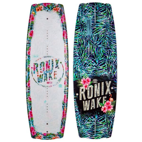 RONIX KRUSH WOMANS METALLIC WHITE WAKEBOARD BLANK (2017)