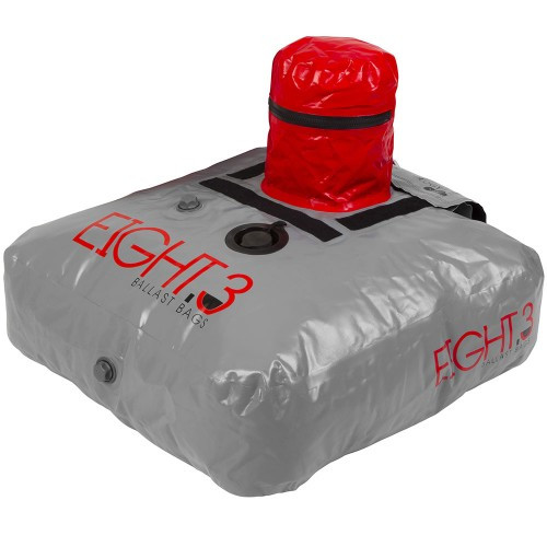 RONIX EIGHT.3 FLOOR BALLAST BAG SILVER 650LBS (2017)
