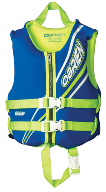 OBRIEN CHILD NEOPRENE VEST 30-60LB CCGA