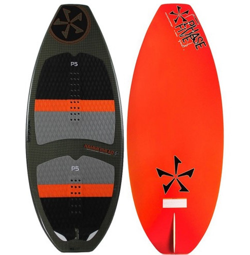 "PHASE FIVE HAMMERHEAD 55"" WAKESURF BOARD (2017)"
