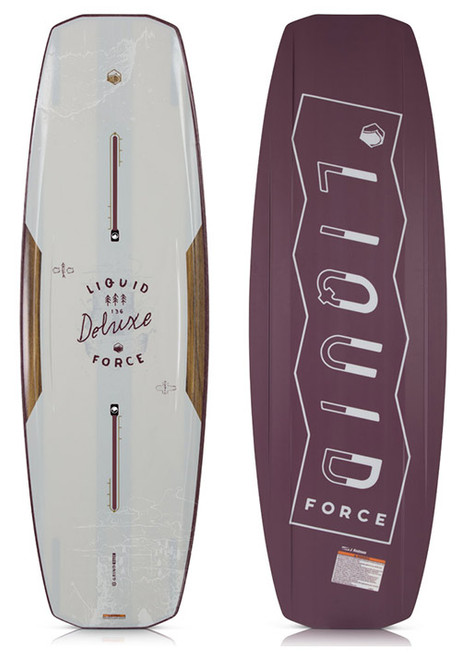 LIQUID FORCE DELUXE WAKEBOARD BLANK (2018)