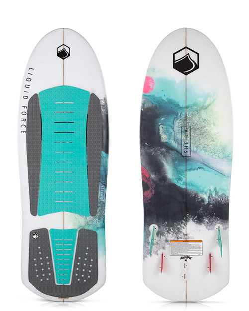 LIQUID FORCE SHEILA WAKESURF BOARD (2018)