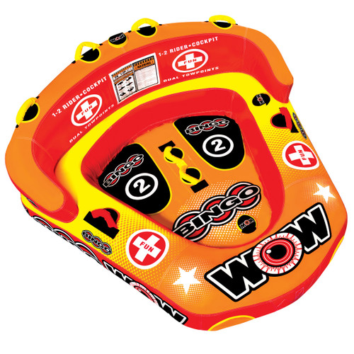 WOW BINGO 2 RIDER TOWABLE TUBE (2017)