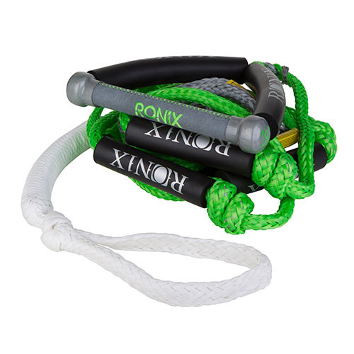 "RONIX BUNGEE SURF ROPE 10"" HIDE GRIP WITH 25' 4-SECTION MAIN LINE"