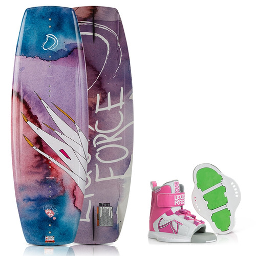 LIQUID FORCE DREAM GIRLS WAKEBOARD PACKAGE (2018)