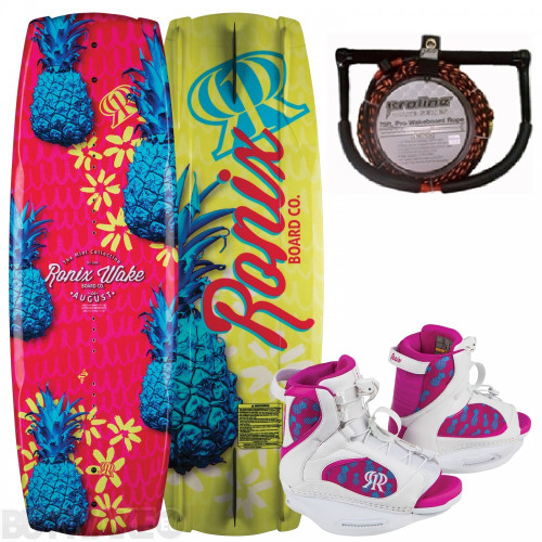 RONIX AUGUST GIRLS WAKEBOARD PACKAGE + FREE ROPE (2018)