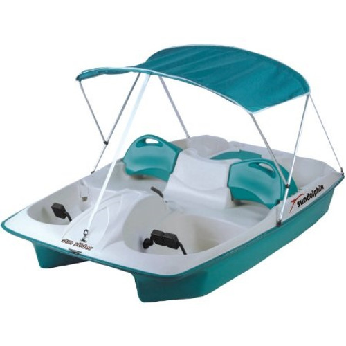 SUN SLIDER 5 PEDAL BOAT WITH CANOPY AND MOORING COVER (2018)