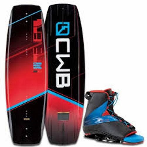 CWB REVERB WAKEBOARD WITH EMPIRE BINDING PACKAGE (16)