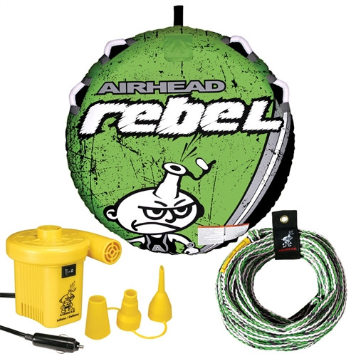 AIRHEAD REBEL TUBE + PUMP AND ROPE