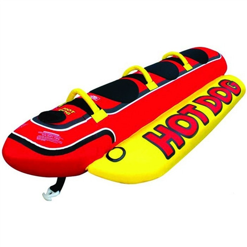 AIRHEAD HOT DOG WEENIE 3 RIDER TUBE (2018)