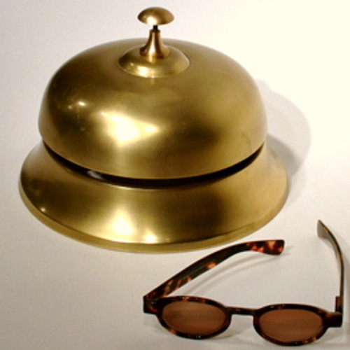 Giant Brass Reception Desk Bell
