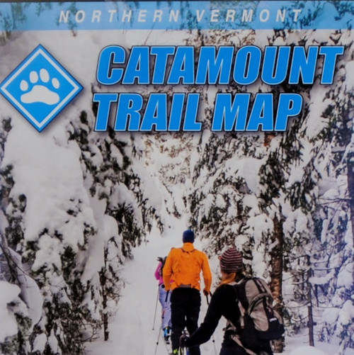 Northern Vermont Catamount Trail Map