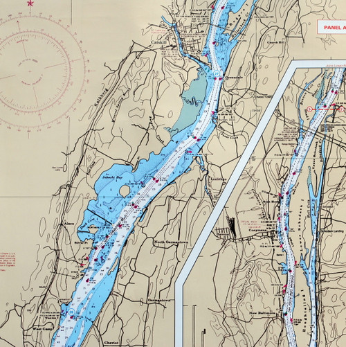 Waterproof Chart Hudson River