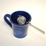 Mesh Tea Ball with Cup Rest