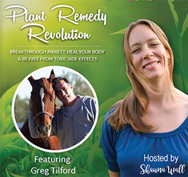 Listen to  Herbalist Greg Tilford on Plant Remedy Revolution!