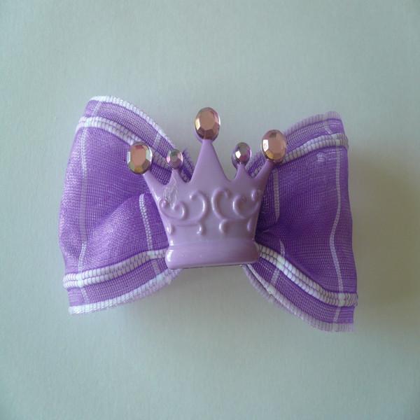 Royal Princess Lavender Crown & Bow