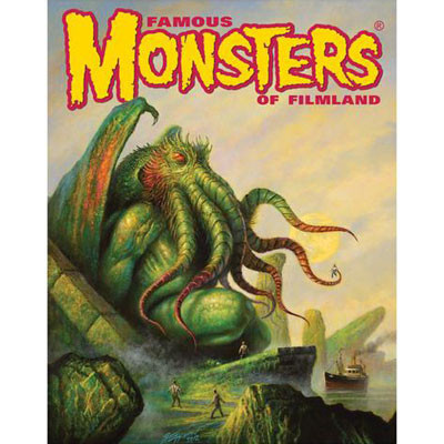 Famous Monsters Cthulhu Poster By Bob Eggleton