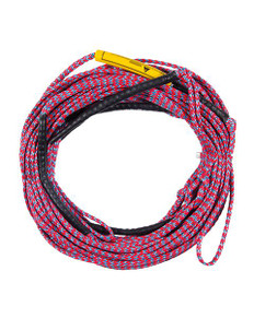 This rope offers 75 ft of non-stretch goodness while retaining the ability to float and allowing you to adjust rider length. A PE coated rope with four sections!  60+5+5+5+5 sections.