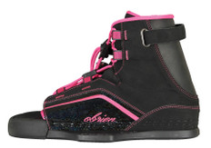 Like the Vixen wakeboard, the Vixen binding was designed for comfort and control.  Utilizing our System Chassis and comfort footbed the Vixen is a lightweight, easy to mount, open toe binding that completes the Vixen wakeboard package. 2161380