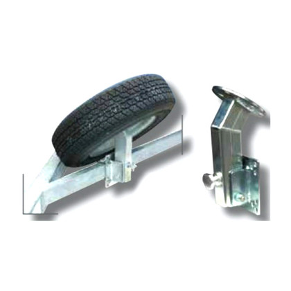 Angled Spare Tire Carrier